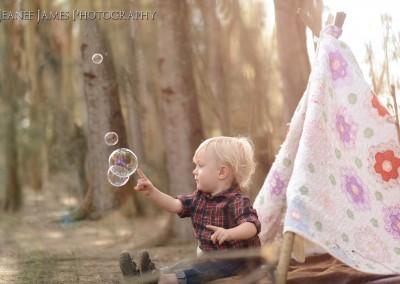 Bubbles sun