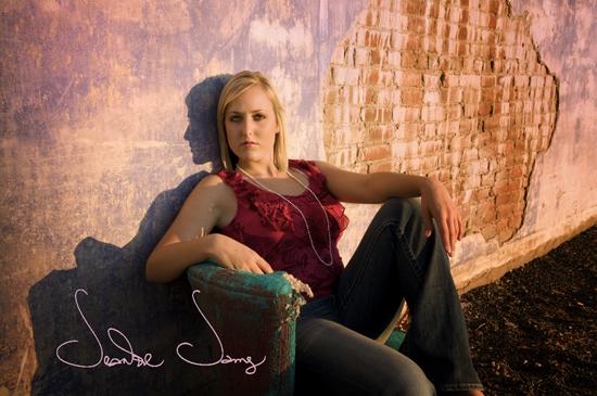 Abby chair purple wall
